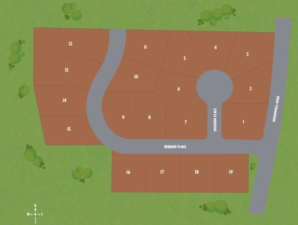 Alpharetta Parc At Broadwell Site Plan