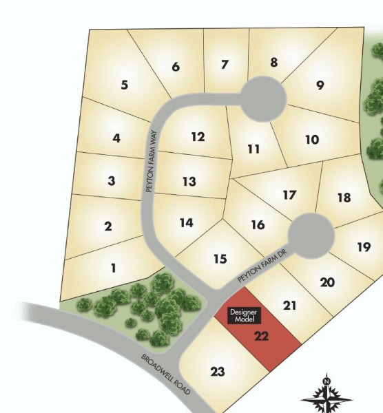 Alpharetta GA Peyton Farm Community