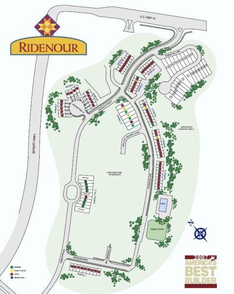 Kennesaw GA Community Ridenour Site Plan