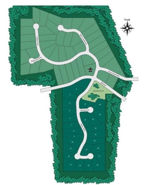 D.R. Horton Community Silveroak Site Plan