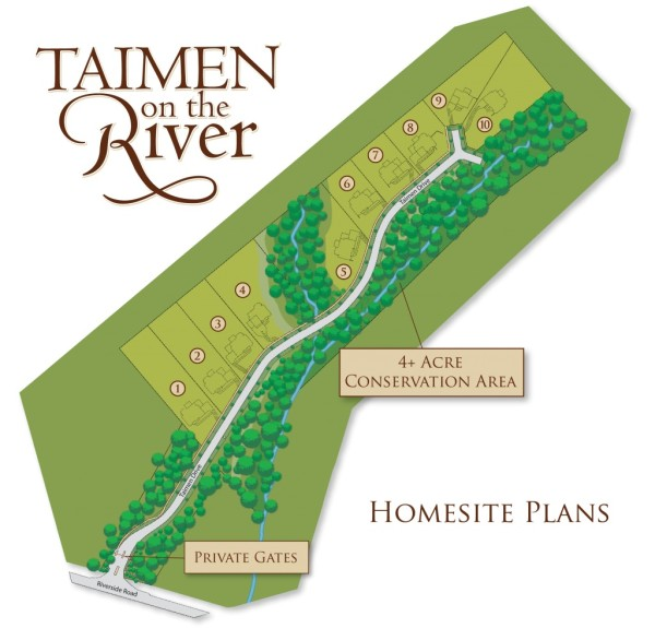 Roswell GA Community Site Plan Taimen On The River