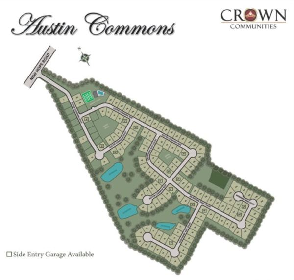 Dacula Neighborhood Site Plan Austin Commons