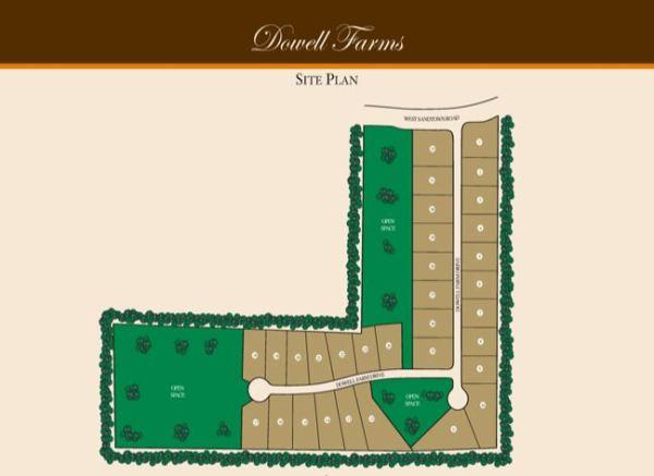 Dowell Farms Marietta Community Site Map