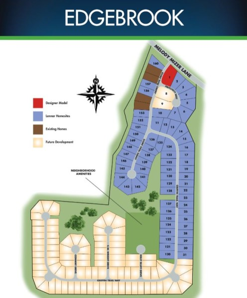 Lennar Built Community Edgebrook In Cumming