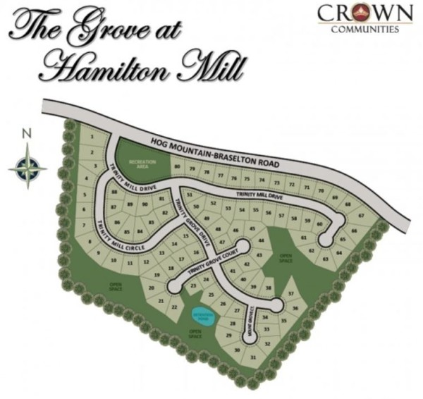 Dacula The Grove At Hamilton Mill Community