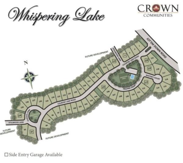 Cumming GA Whispering Lake Neighborhood