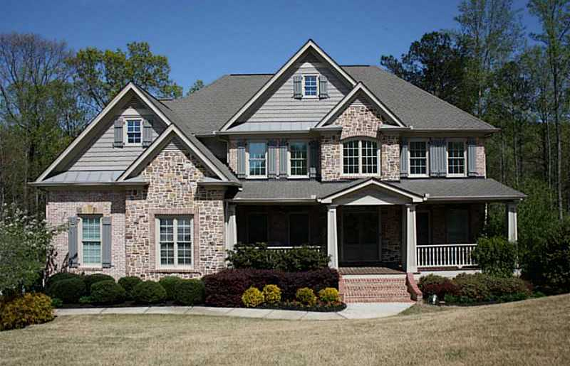 Atlanta Real Estate I Remax Ga I Forsyth County Homeshomes In Craftsman Style At Arbor Meadows