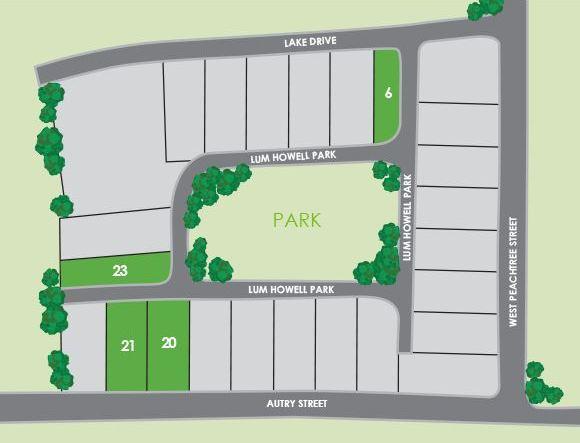 Lum Howell Park Norcross Site Plan