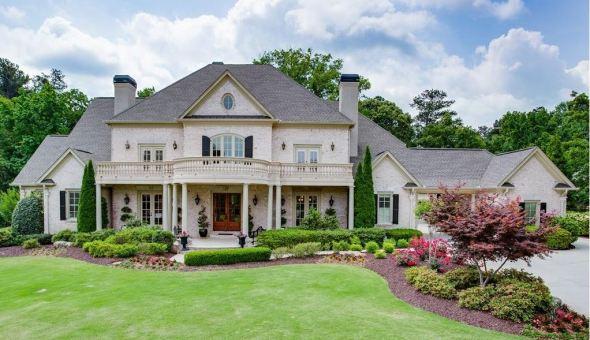Drayton Hall Buford GA Estate Home