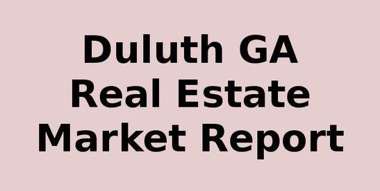Duluth GA Real Estate