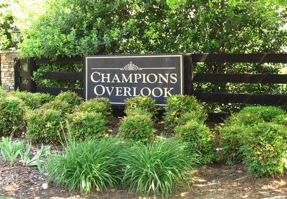 Champions Overlook Milton GA Estate Enclave