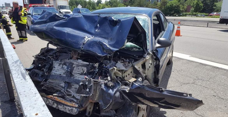 Vehicle Accident Hwy 290 {Eddie Cheever}