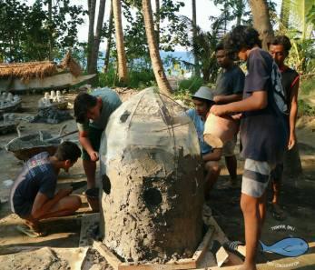 bali volunteer marine reef conservation