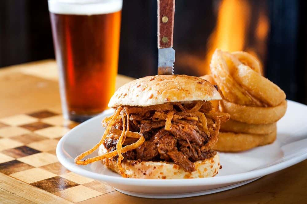 Enjoy Moe's beef brisket at North Bend Bar and Grill