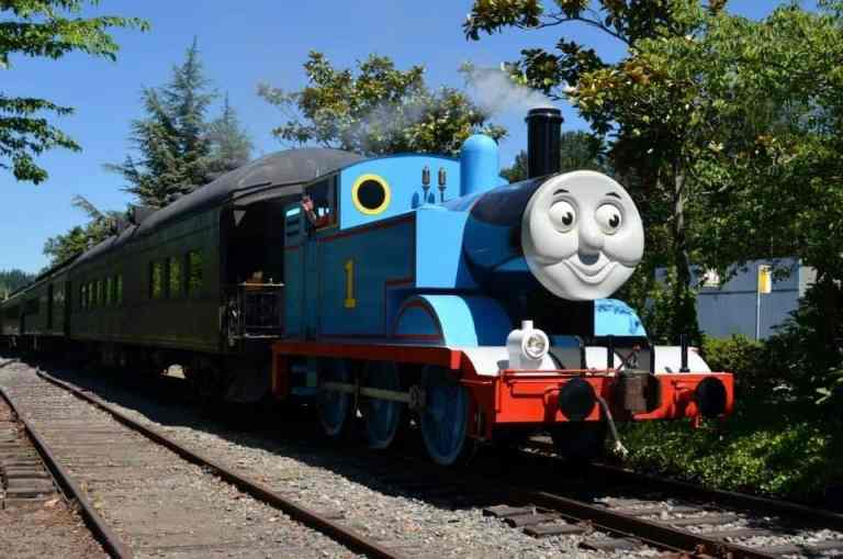 Day out with Thomas. Bring the kids to ride the only Thomas Tank Engine train in Washington State
