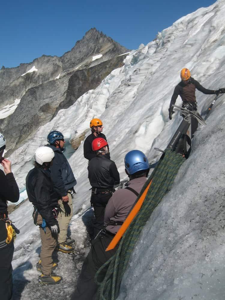 Pro Ski and Mountain Service Alpine Ice Training