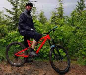 Biking Rattlesnake Ridge - Stans Overlook