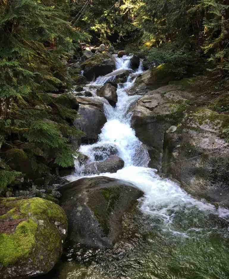 Taylor River Trail Marten Creek Falls
