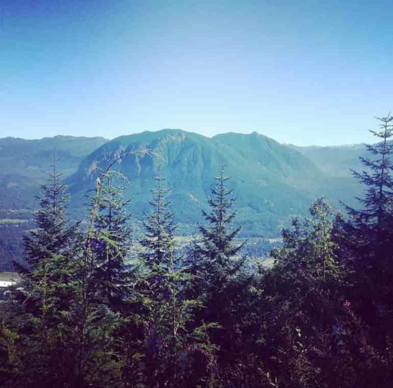 View of Mt Si from Grand Prospect