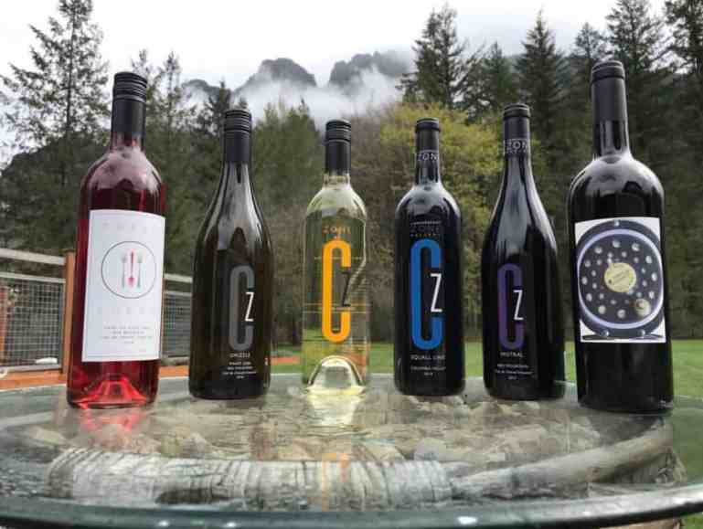 Sample Daily CZ Tasting Selection