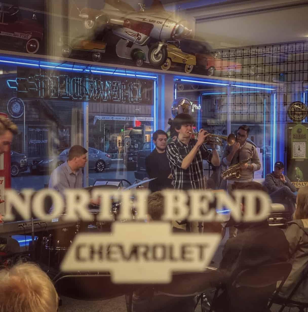 Jazz Walk North Bend April 2019