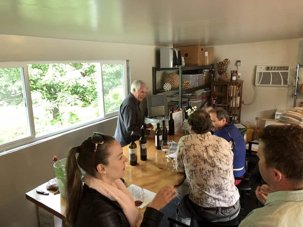 Fivash Cellars Fall City Tasting Room