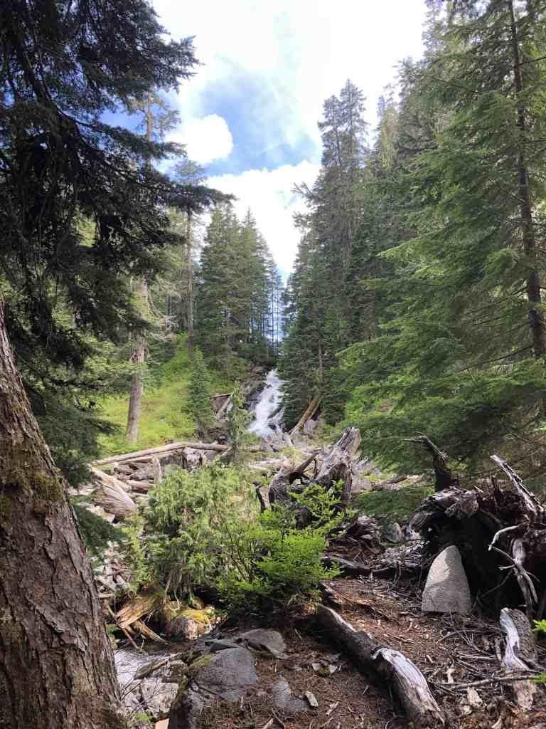 Waterfall just below Snoqualmie Lake