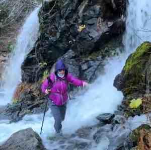 Waterfall Crossing in Rainy Season - Katwalk Trail