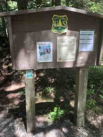 Franklin Falls Trailhead