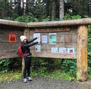 Starting Out on the Pacific Crest Trail to Gravel Lake