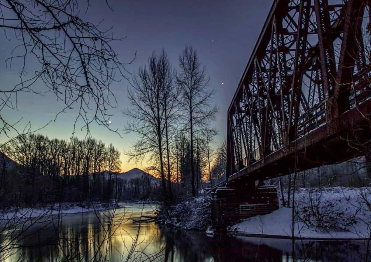 Ronette's Bridge Reinig Road Soqualmie