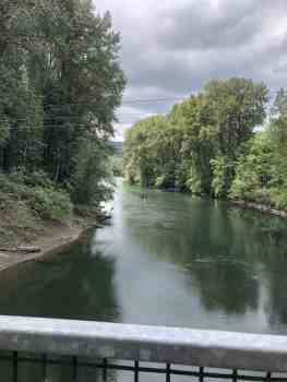 Snoqualmie River from Ronette's Bridge