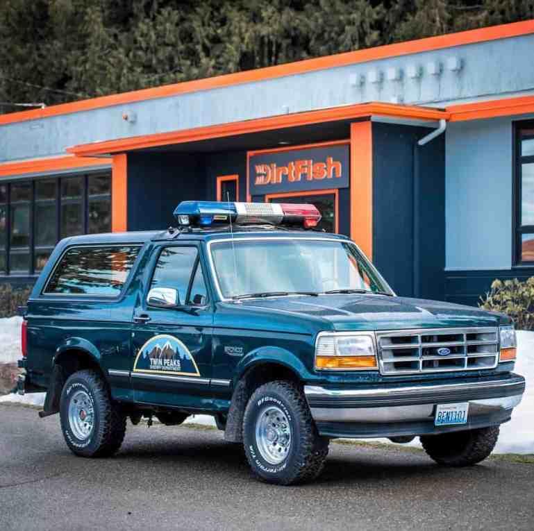 Sheriff Car - Twin Peaks