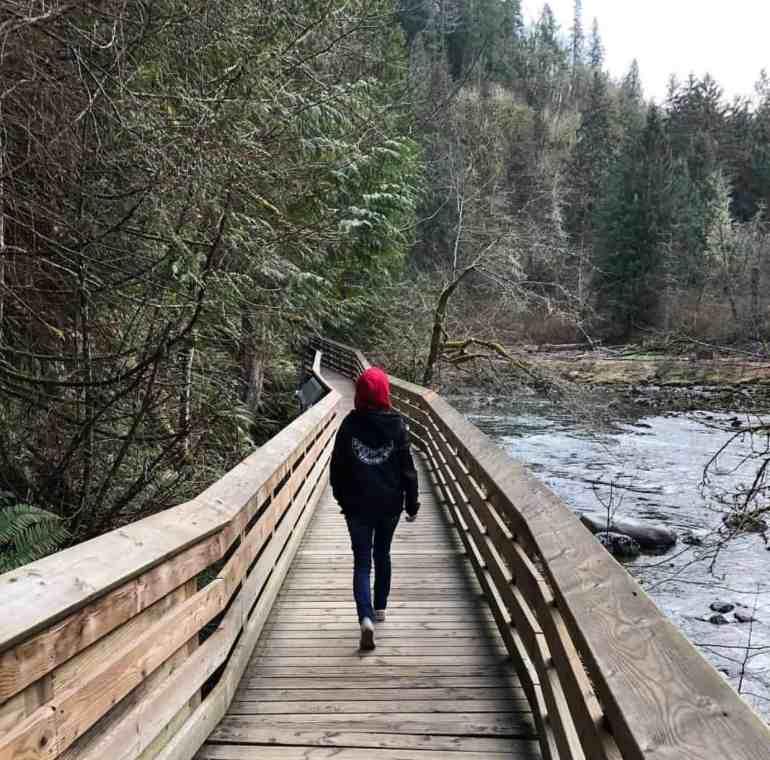 Lower Boardwalk - Snoqualmie Falls Trail