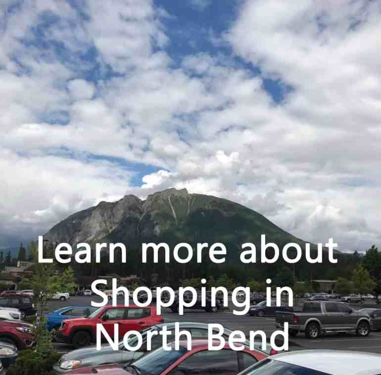 Shopping in North Bend