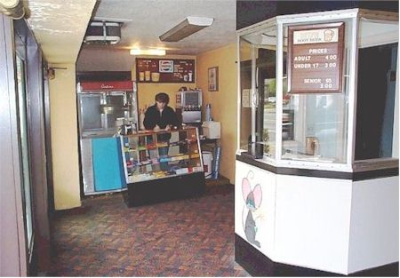 old lobby tickets and concessions
