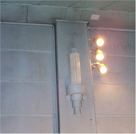 old auditorium lighting