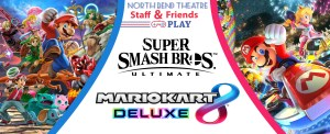 Smash Bros and Mario Cart Banner