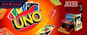 Uno and Jackbox Banner