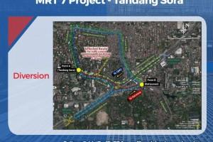 Tandang Sora flyover closure deferred to March 1
