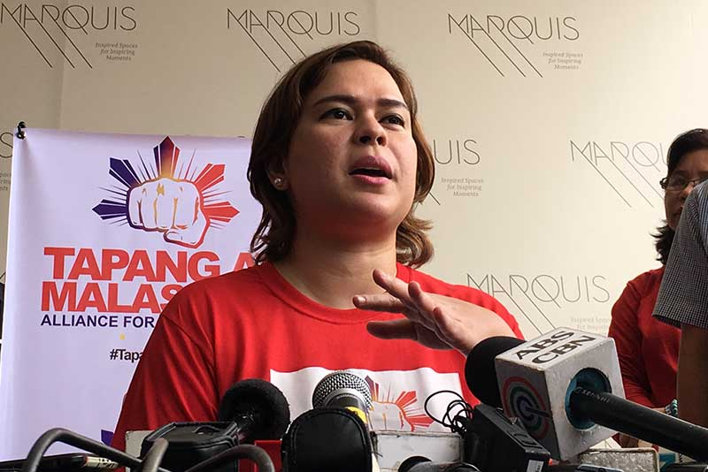 2 solons back Sara Duterte as country's next president