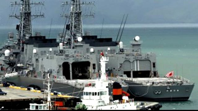 3 Japan warships now in Subic for goodwill visit