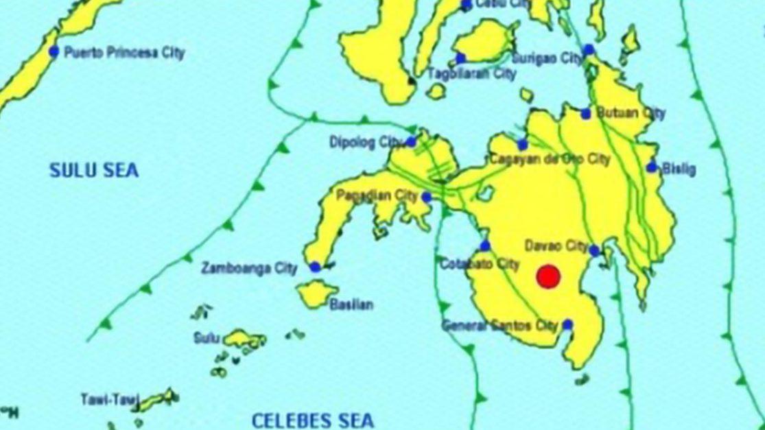 Magnitude 6.3 quake jolts North Cotabato