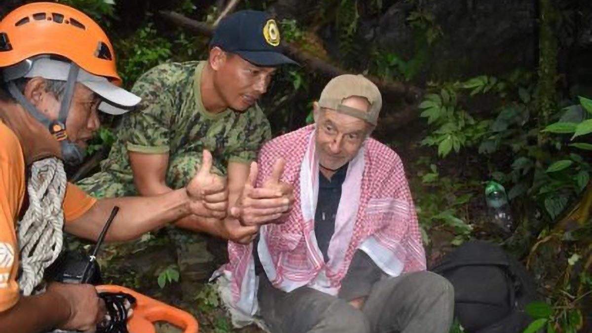 Missing French tourist in Mt. Province found after 8 days