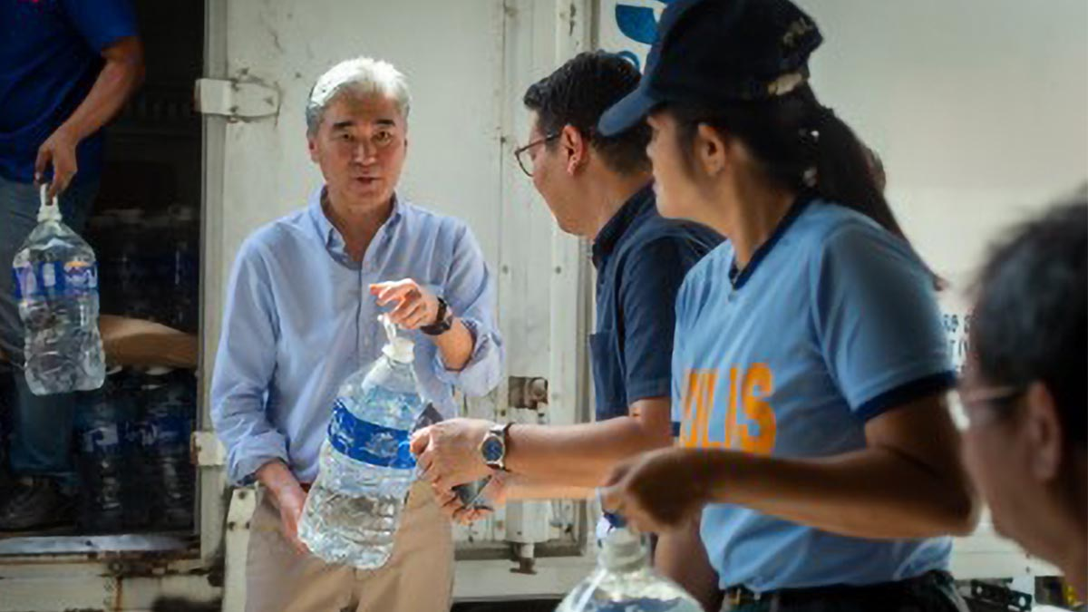 US donates P5.1-M aid for Taal relief