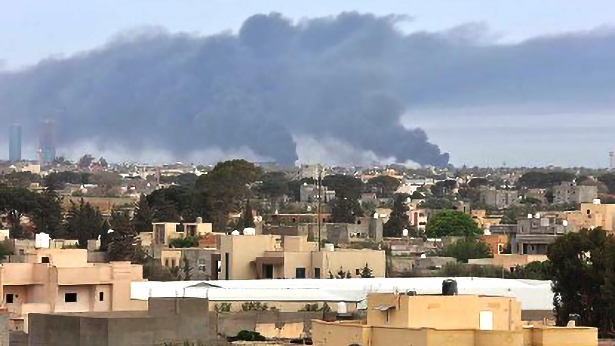 Filipinos near artillery attack sites in Libya urged to relocate