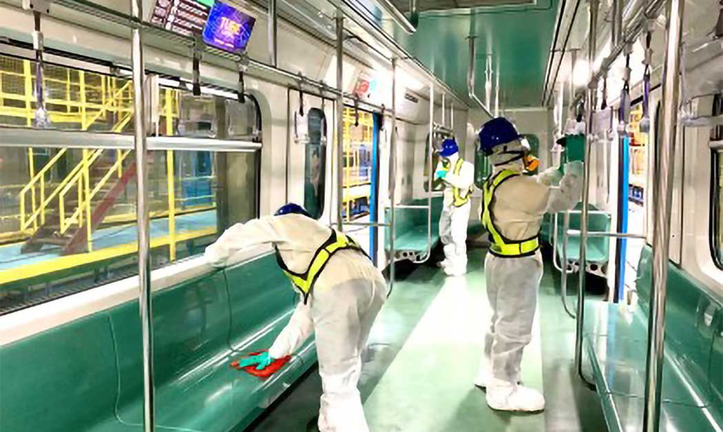 LRT-1 workers undergo 'risk-based' testing for Covid-19