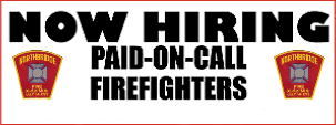 NFD Hiring On Call Fire Fighters