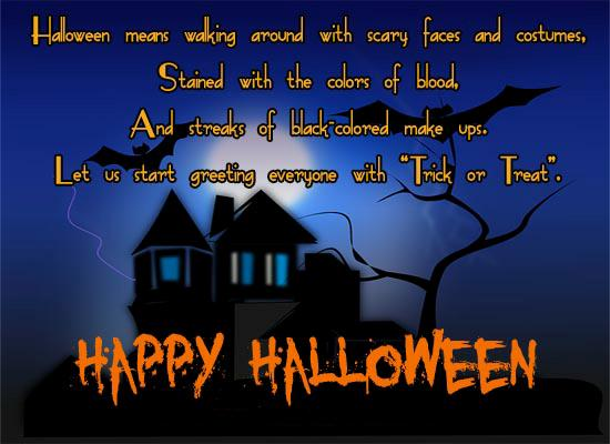 Amazing Happy Halloween Messages Sermons SMS To Forward