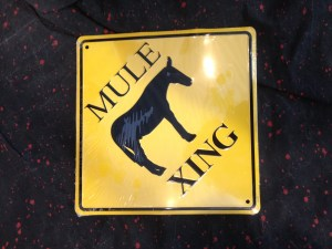 Warren Haynes Exhibit - Mule Sign 1